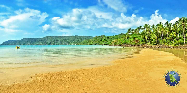 Luk Uan Bucht auf Koh Kood in Thailand