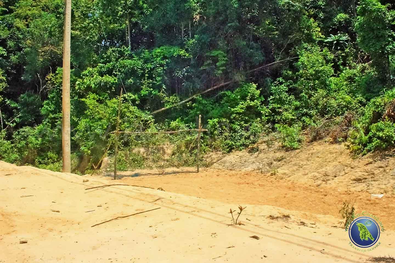 Fußballplatz auf Koh Kood in Thailand