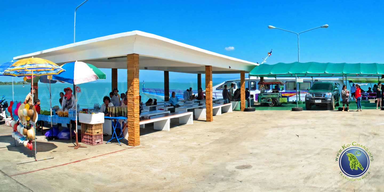 Laem Sok Pier in Trat, Thailand