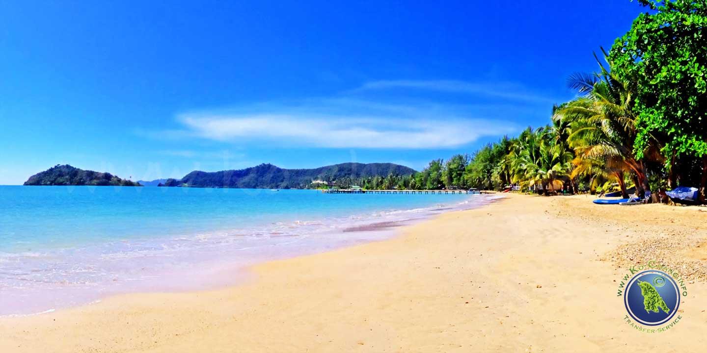 Ao Khao Beach auf Koh Mak in Thailand