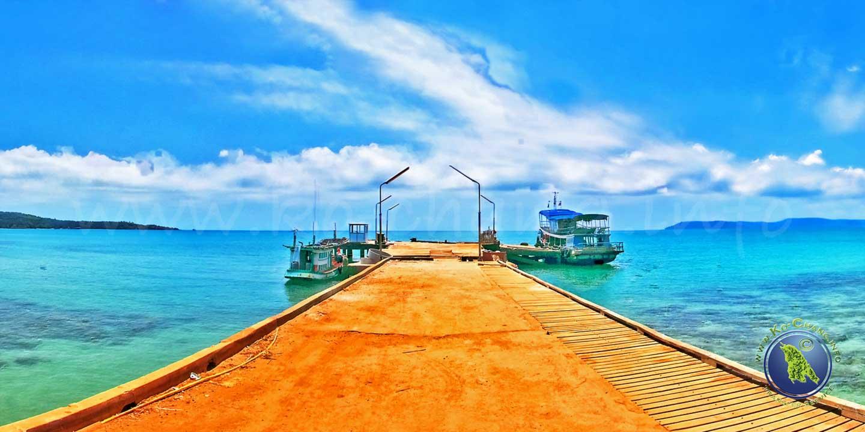 Ao Nid Bucht auf Koh Mak in Thailand