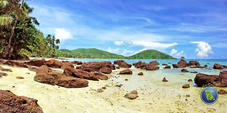 Ao Pra Beach auf Koh Mak in Thailand