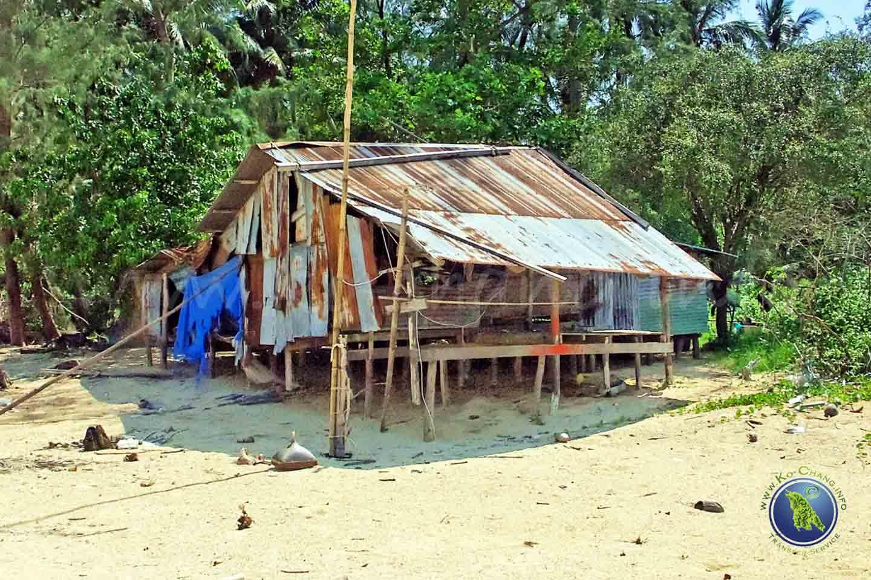 Bungalow auf Koh Maak in Thailand