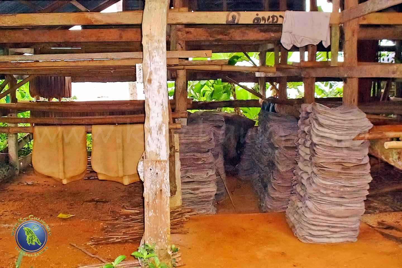 Koh Mak: Kautschuklager