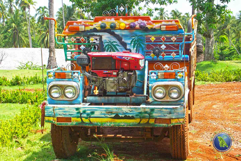 Sammeltaxi auf Koh Maak in Thailand