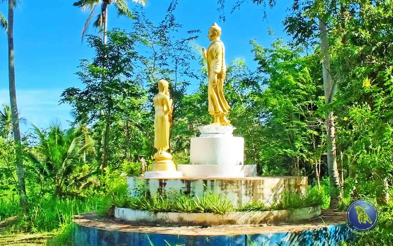 Tempelgelände auf Koh Maak in Thailand