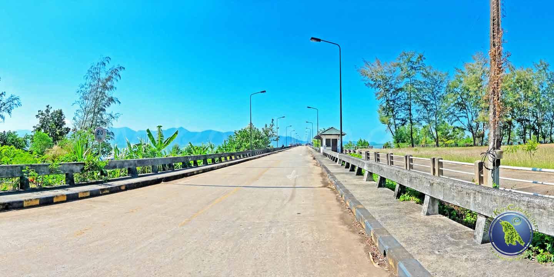 Laem Ngop Pier (Khrom Luang Pier) am Festland zur Reise nach Koh Mak