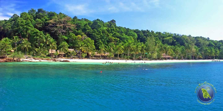 Paradise Beach Resort auf Koh Wai in Thailand