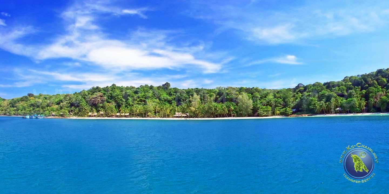 Paradise Beach auf Koh Wai in Thailand