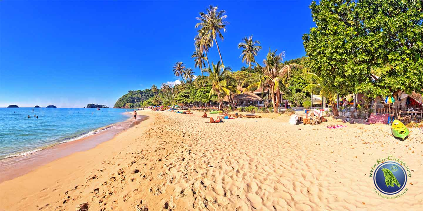 Nature Beach Resort am Lonely Beach auf Koh Chang