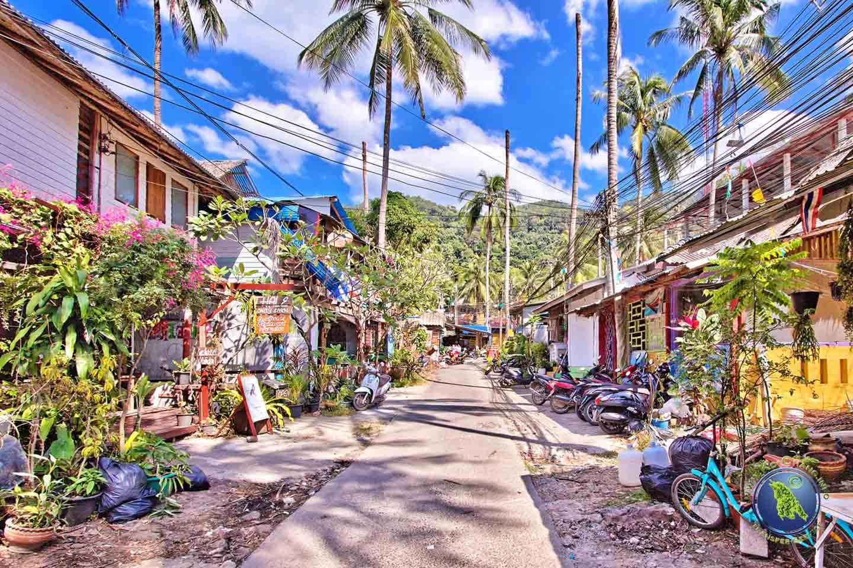 Dorf beim Lonely Beach auf Koh Chang