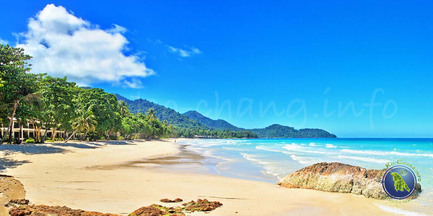 Lonely Beach auf Koh Chang in Thailand