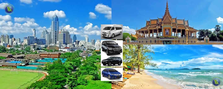 Bangkok in Thailand und Phnom Penh / Sihanoukville in Kambodscha