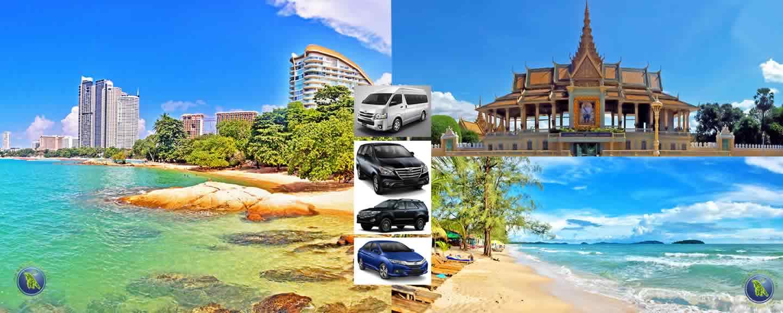 Pattaya / U-Tapao-Airport / Koh Samed / AIDA in Thailand und Phnom Penh / Sihanoukville in Kambodscha