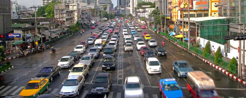 Stau in Bangkok