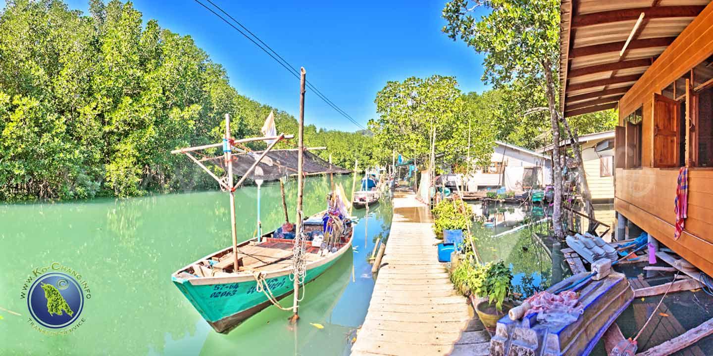 Le village de Salak Khok sur Koh Chang