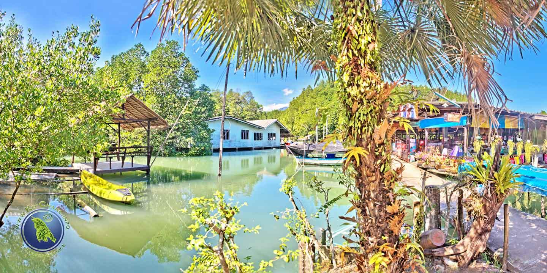 Salak Khok Fischerdorf auf Koh Chang