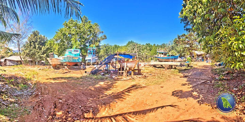 Werft der Salak Khok Bucht auf Koh Chang