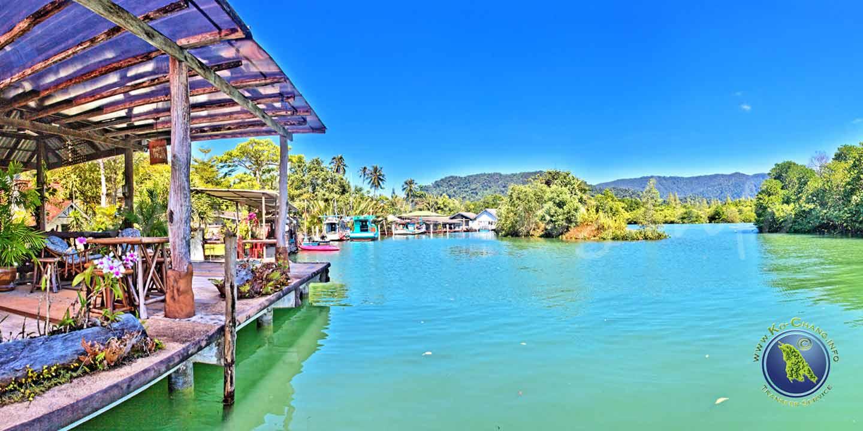 Mangrove Hideaway in der Salak Phet Bucht auf Koh Chang