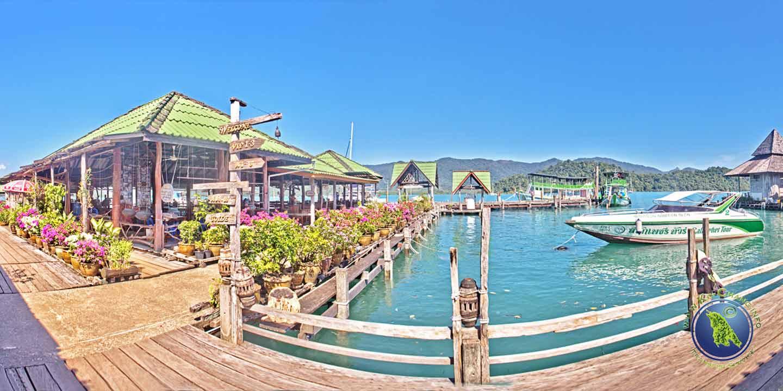 Seafood Resort in der Salak Phet Bucht auf Koh Chang