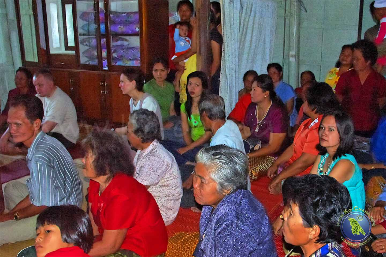 Hochzeitsgesellschaft in Thailand