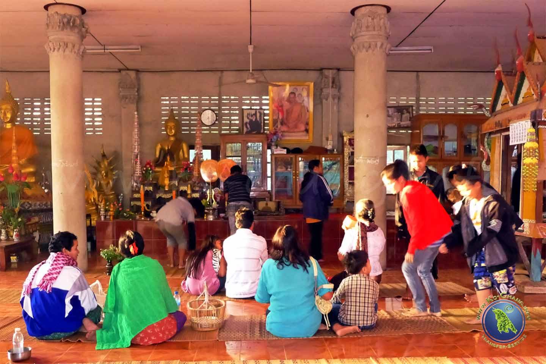 In einem Thailändischen Tempel