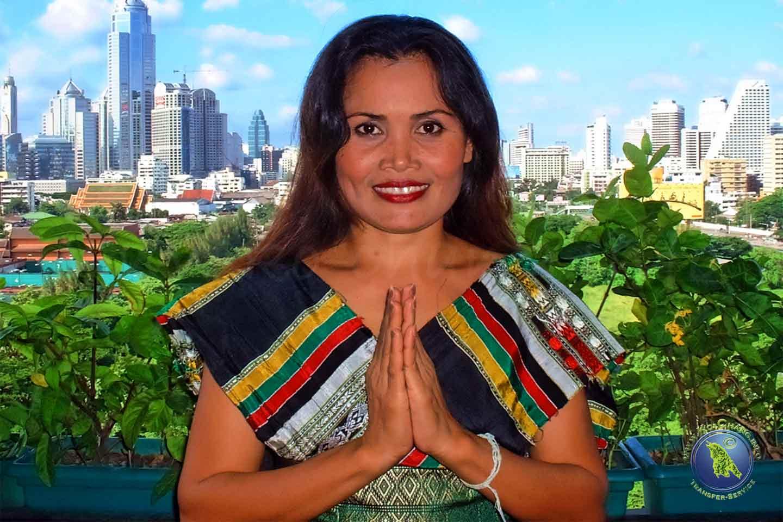 Korrekte Begrüßung in Thailand: Der Wai