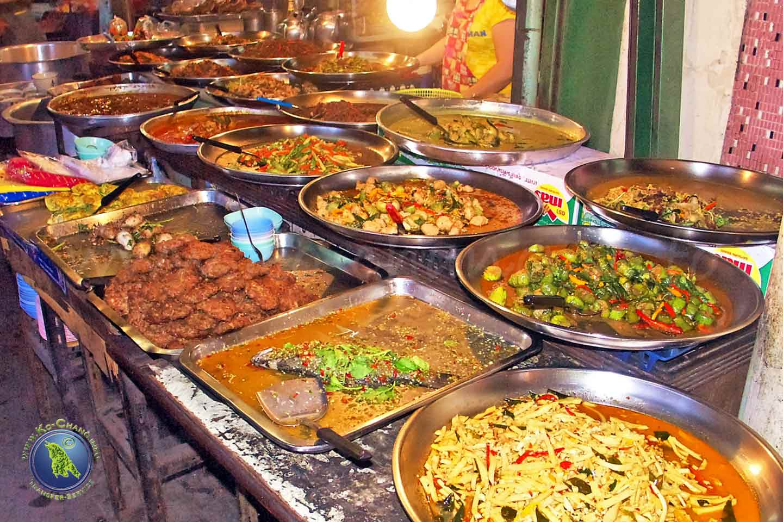 Repas thaïlandais