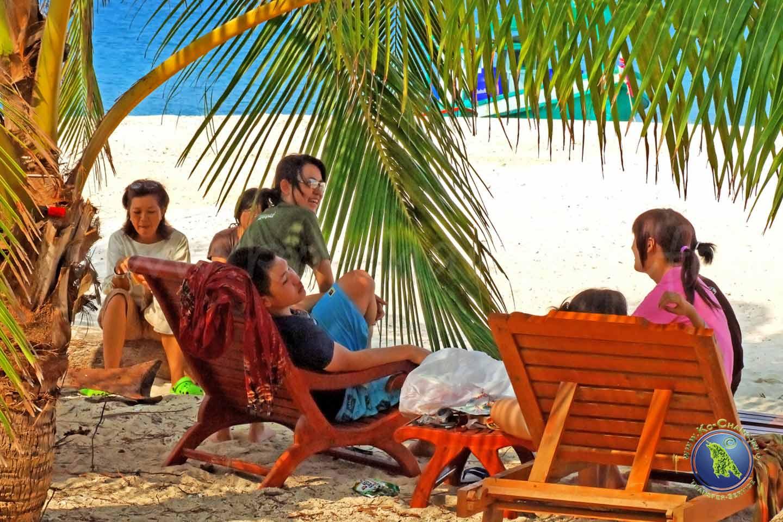 Thailänder am Strand