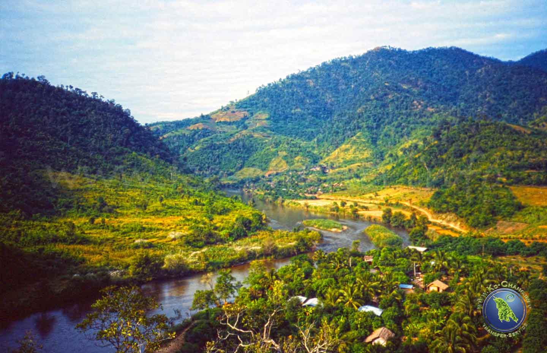 Grenzregion Thailand und Myanmar