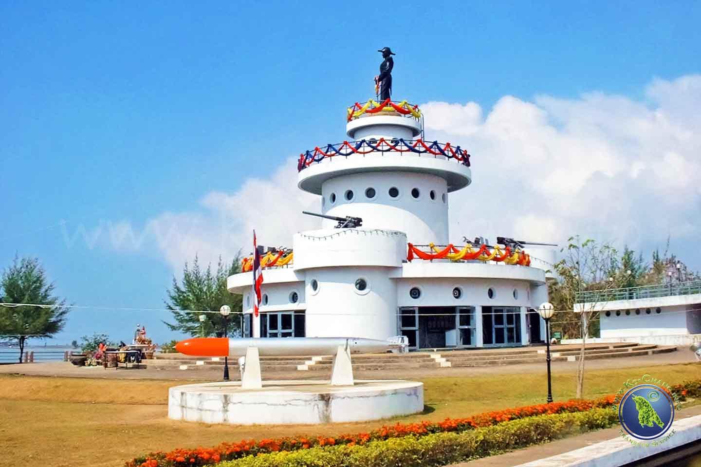 Museum in Laem Ngop zur Seeschlacht vor Koh Chang in Thailand