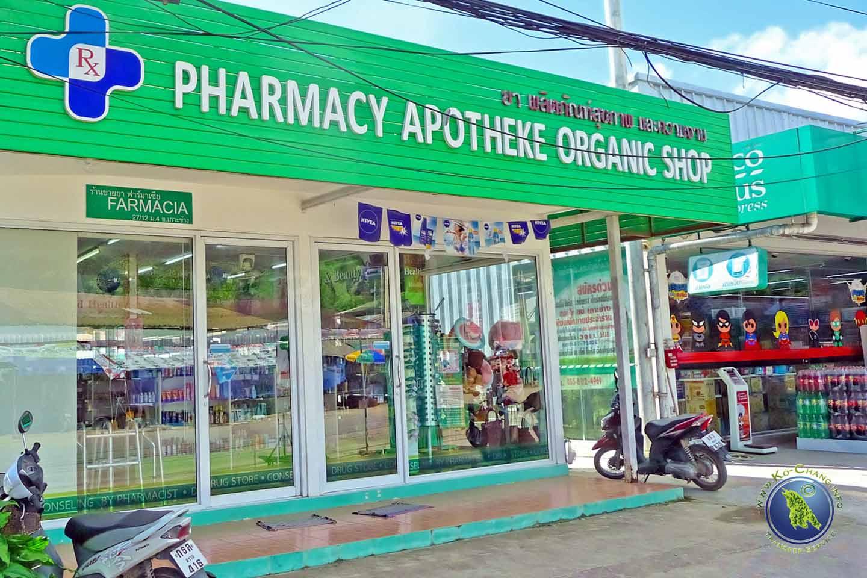 Apotheke auf Koh Chang in Thailand