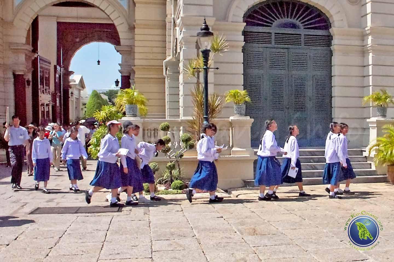 Thailändische Schulklasse