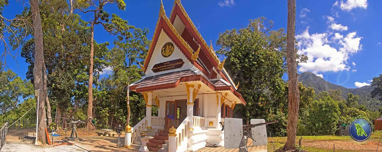 Gedenkschrein auf Koh Chang in Thailand