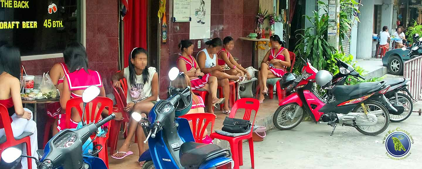 Prostitutierte in Pattaya, Thailand