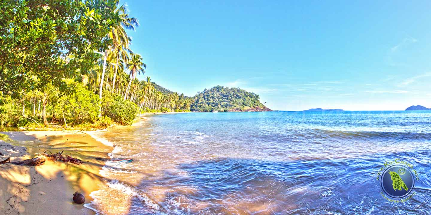 Wai Chek Beach auf Koh Chang in Thailand