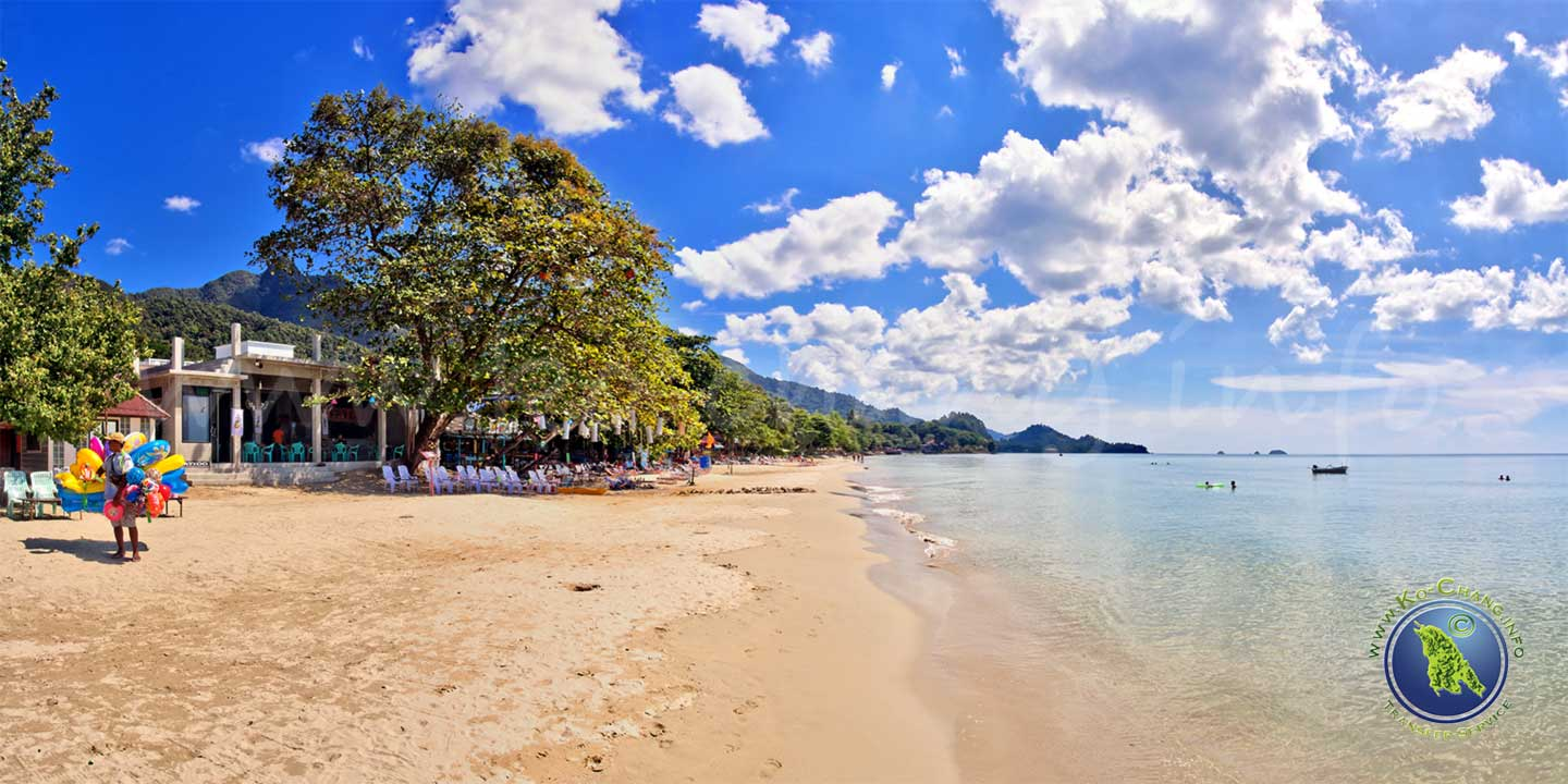White Sand Beach auf Ko Chang in Thailand