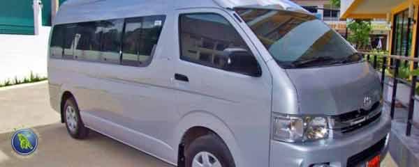 Minibus in Thailand