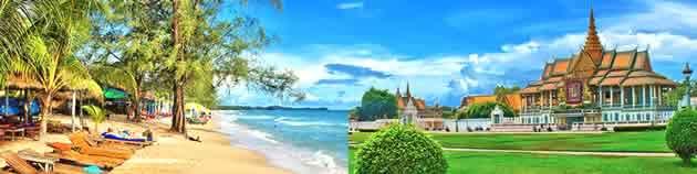 Rundreisen durch Kambodscha